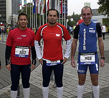 v.l. J�rg Schanze, Lars Theis und Martin Nickel